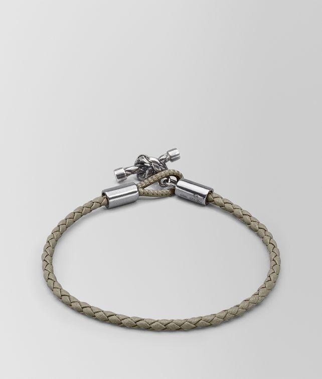 BOTTEGA VENETA FUME' INTRECCIATO NAPPA BRACELET Bracelet Woman fp