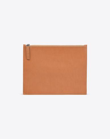 MAISON MARGIELA 11 Wallets U Document holder in calfskin leather f