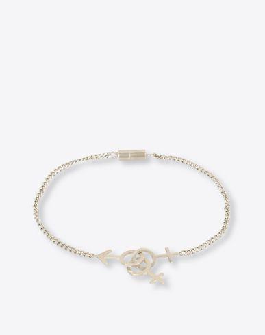 MAISON MARGIELA Bracelet U Gender silver charm bracelet f