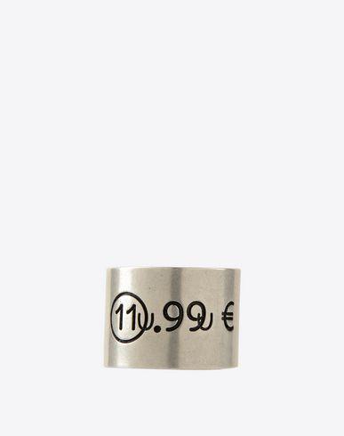 MAISON MARGIELA 11 Ring U Price tag ring f