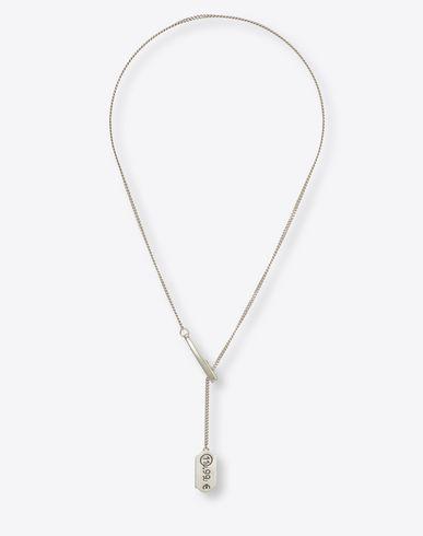 MAISON MARGIELA Necklace U Price tag necklace f