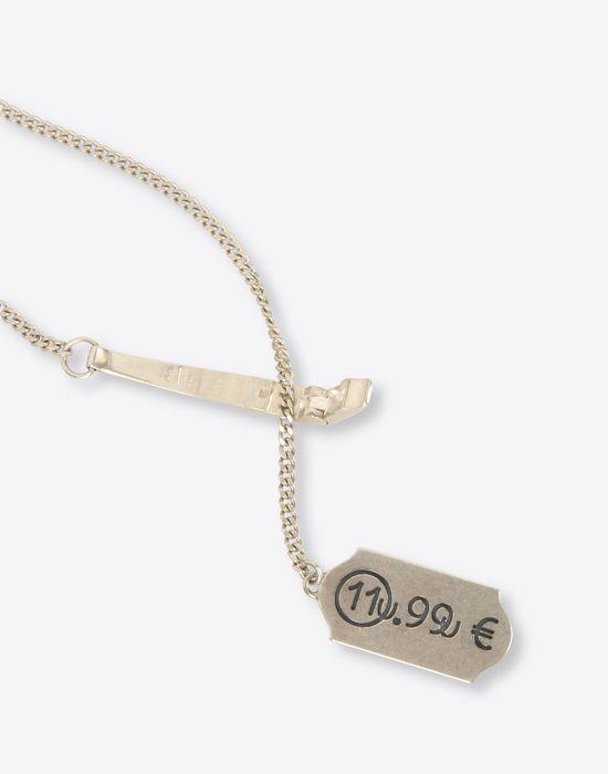 Maison margiela price tag necklace men maison margiela price tag necklace necklace man r mozeypictures Choice Image