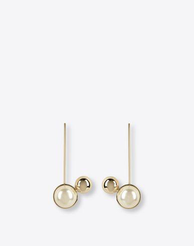 MAISON MARGIELA 11 Earrings D Two-pearls earrings f