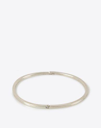 MAISON MARGIELA 11 Classic silver bracelet Bracelet D f