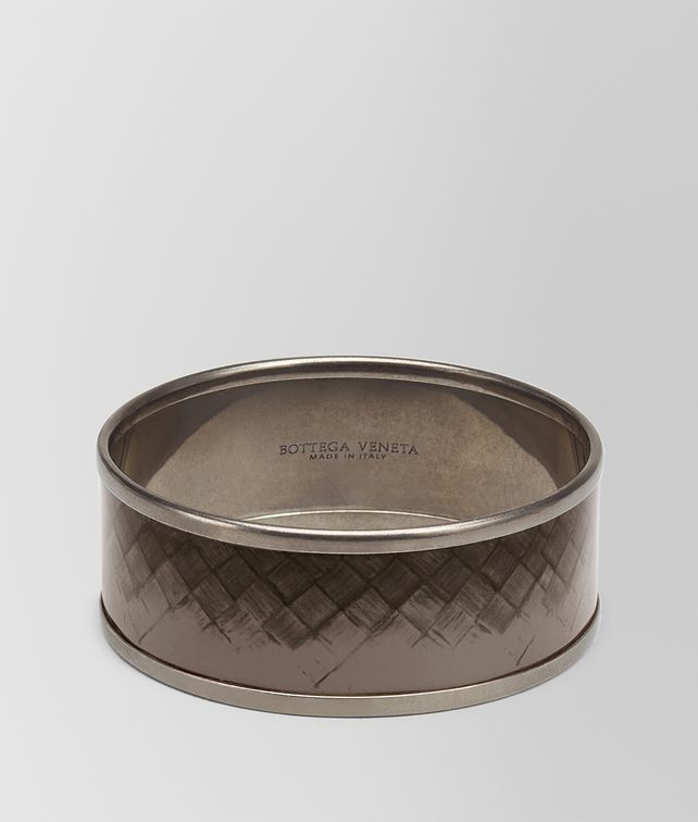BOTTEGA VENETA BRACELET IN STEEL ENAMEL COPPER BRASS Bracelet D fp