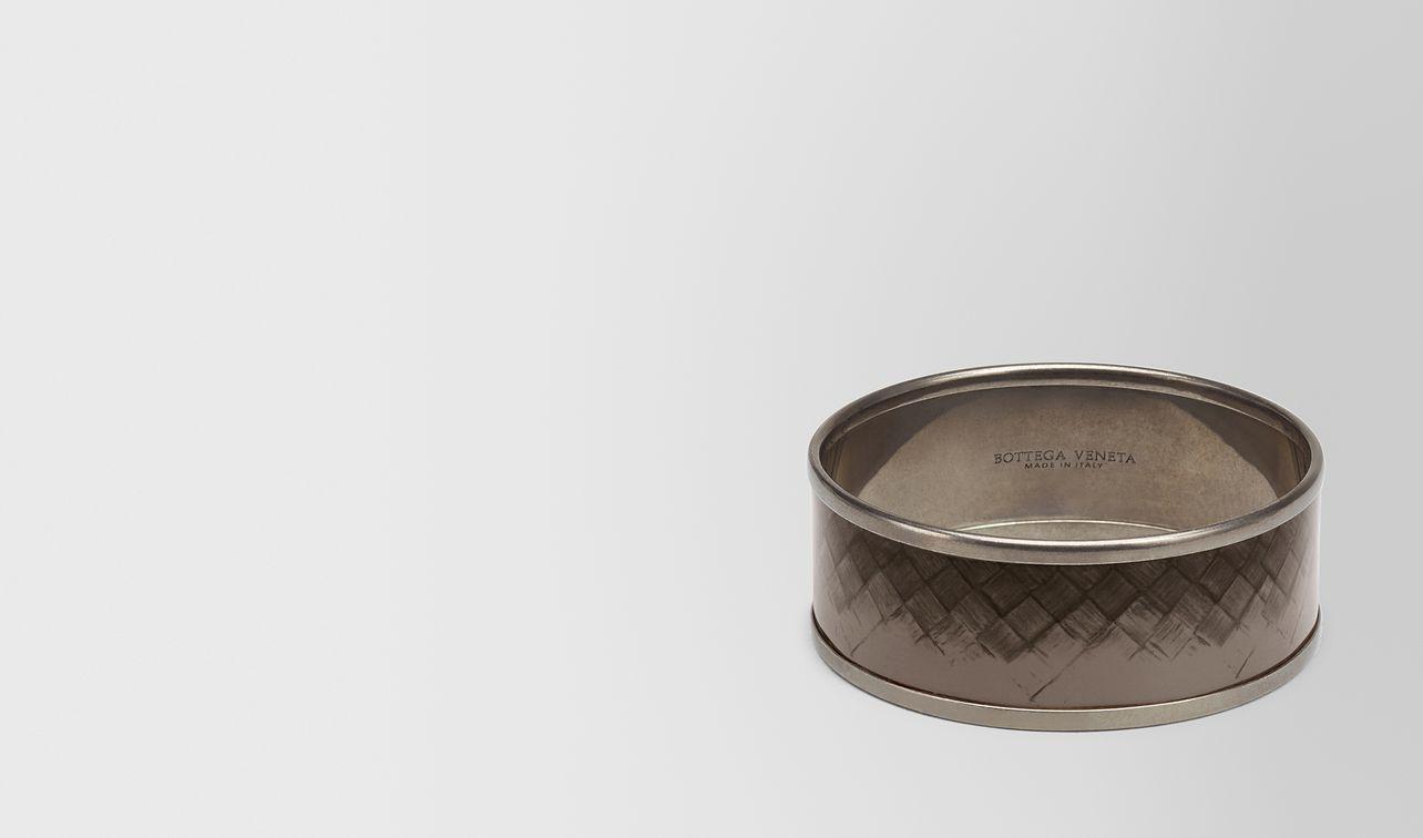 bracelet en cuivre, laiton et émail steel landing