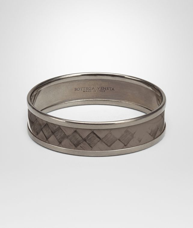 BOTTEGA VENETA BRACELET IN STEEL ENAMEL COPPER BRASS Bracelet Woman fp