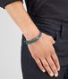 BOTTEGA VENETA BRACELET IN BRIGHTON INTRECCIATO NAPPA AND SILVER Bracelet U ap