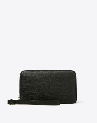 MAISON MARGIELA Wallets U Textured calfskin wallet f