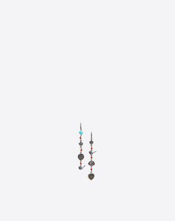 VALENTINO Orecchini pendenti multicharms 50187406HS