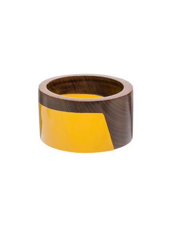 Marni Bangle in wood and resin Woman