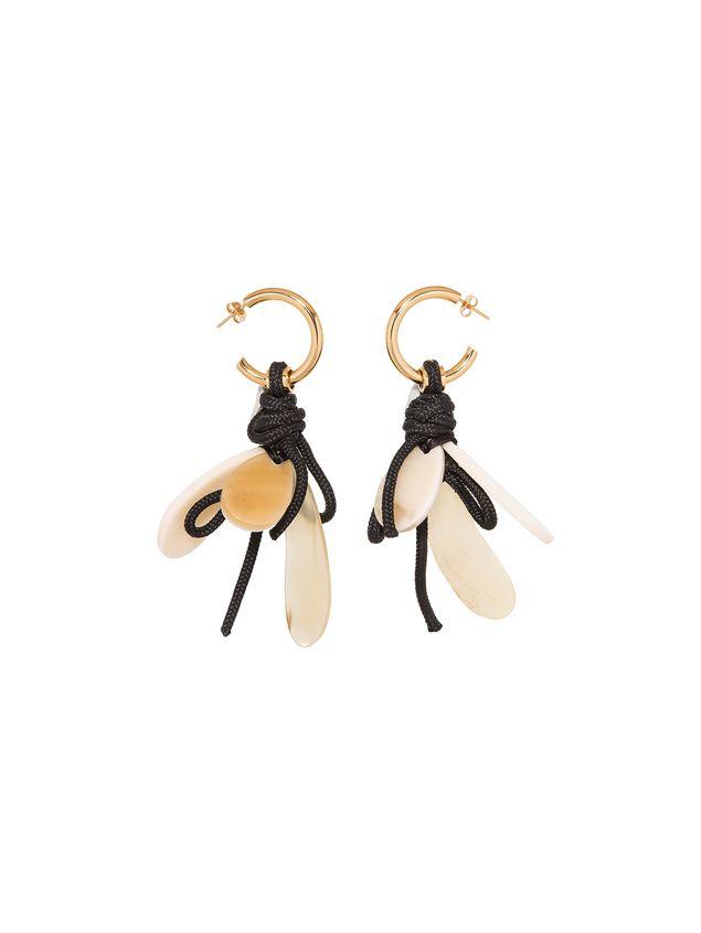 Marni Hook earrings in metal Woman - 1