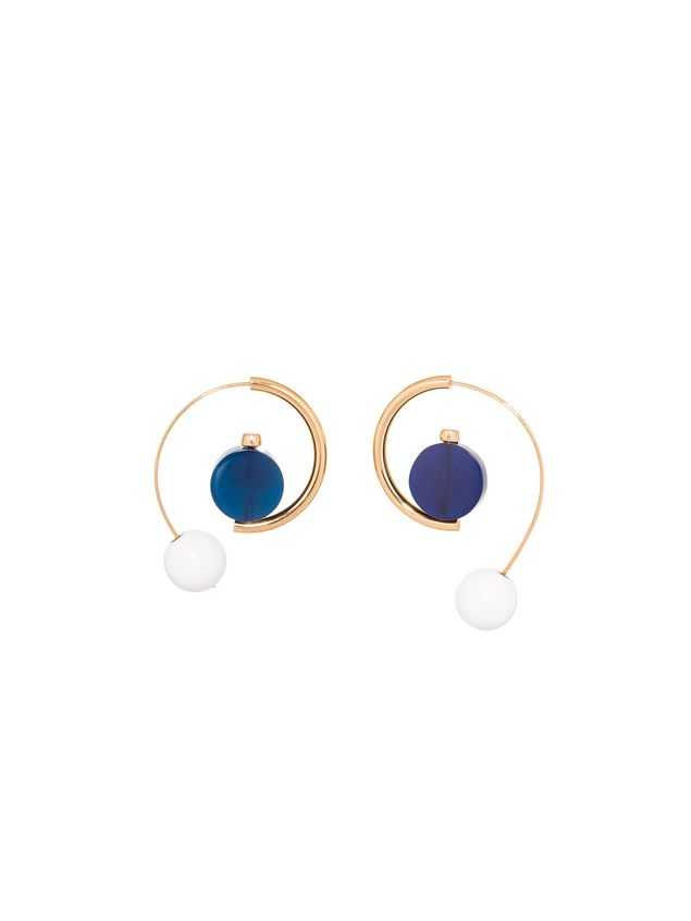 metal marni in leverback d us and gold from woman resin earrings the earring n