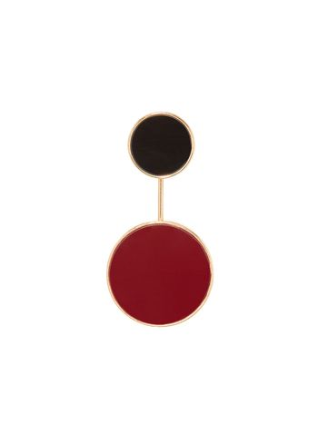 Marni Brooch in metal and resin Woman