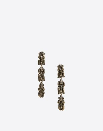 VALENTINO Monkeys Pendant Earrings 50188260EK