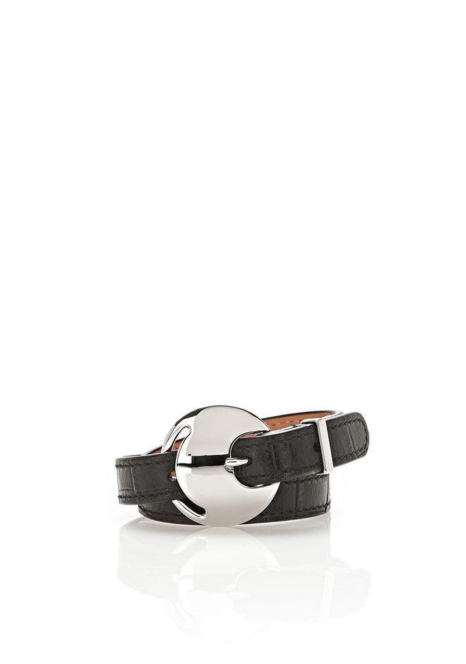 ALEXANDER WANG jewelry EMBOSSED DOUBLE WRAP BRACELET