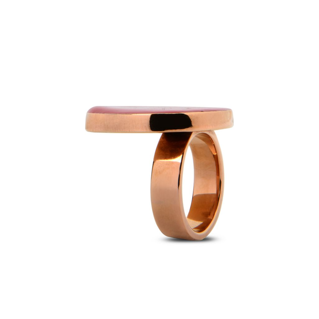 Red Circular Ring - STELLA MCCARTNEY