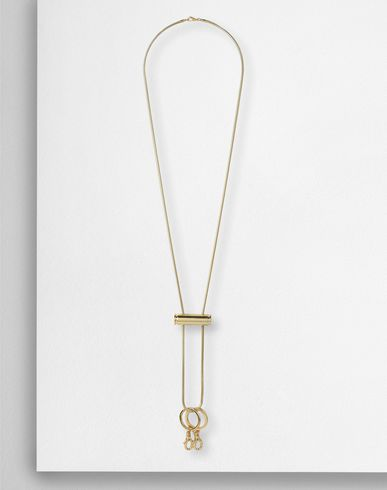 MM6 by MAISON MARGIELA Necklace D Drawstring stopper necklace f