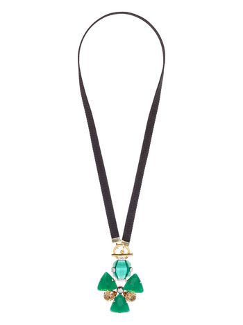 Marni Floral necklace in techno ribbon Woman
