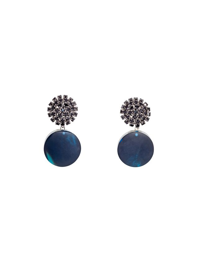 Marni Clip-on earrings in resin and strass Woman - 1