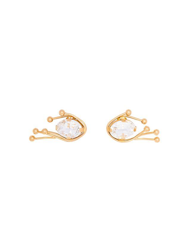 Marni Runway clip-on earrings in metal Woman - 1