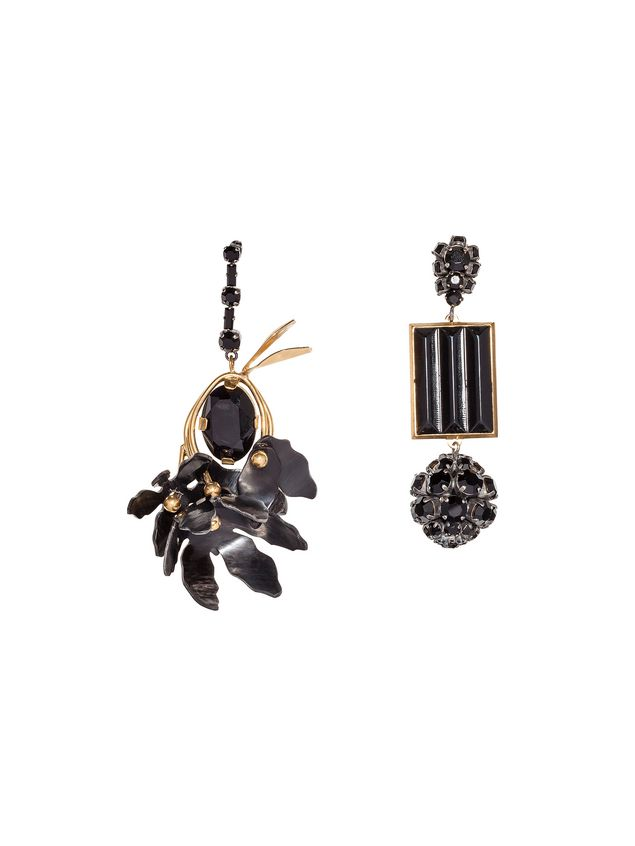 Marni Runway clip-on earrings in metal Woman - 1