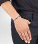 BOTTEGA VENETA BRACELET IN STERLING SILVER, INTRECCIATO DETAILS Bracelet Man ap