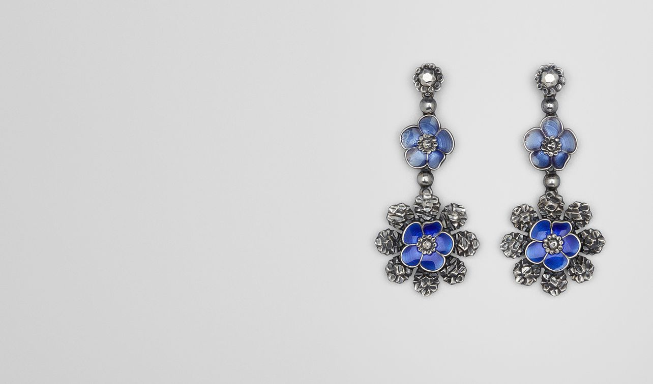 blue in lyst crispin jewelry drop earrings bright baublebar