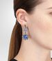 BOTTEGA VENETA EARRINGS IN STERLING SILVER BRIGHT BLUE ENAMEL Earrings D ap
