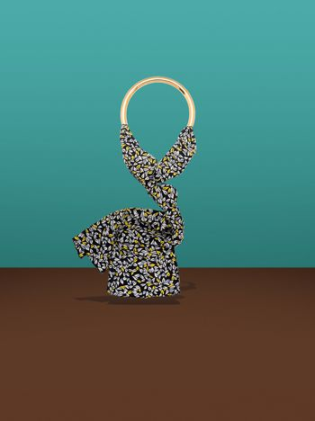Marni Necklace with Cutout print Man