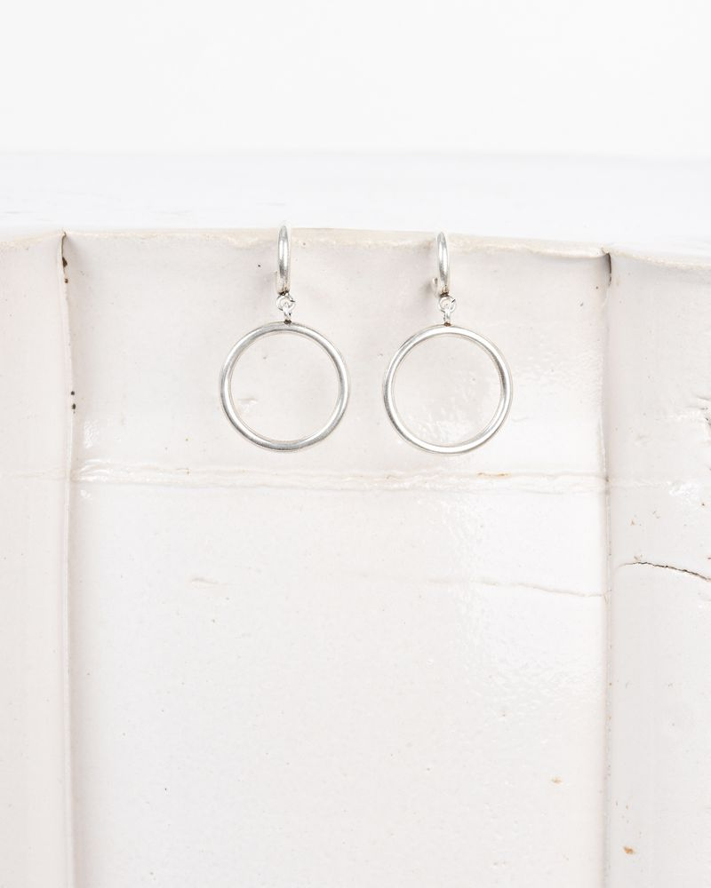 Nirvana Silver Plated Hoops Isabel Marant