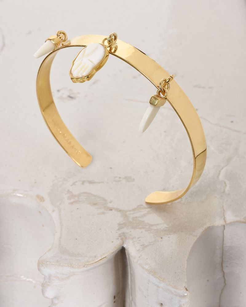 Golden bracelet with charms ISABEL MARANT