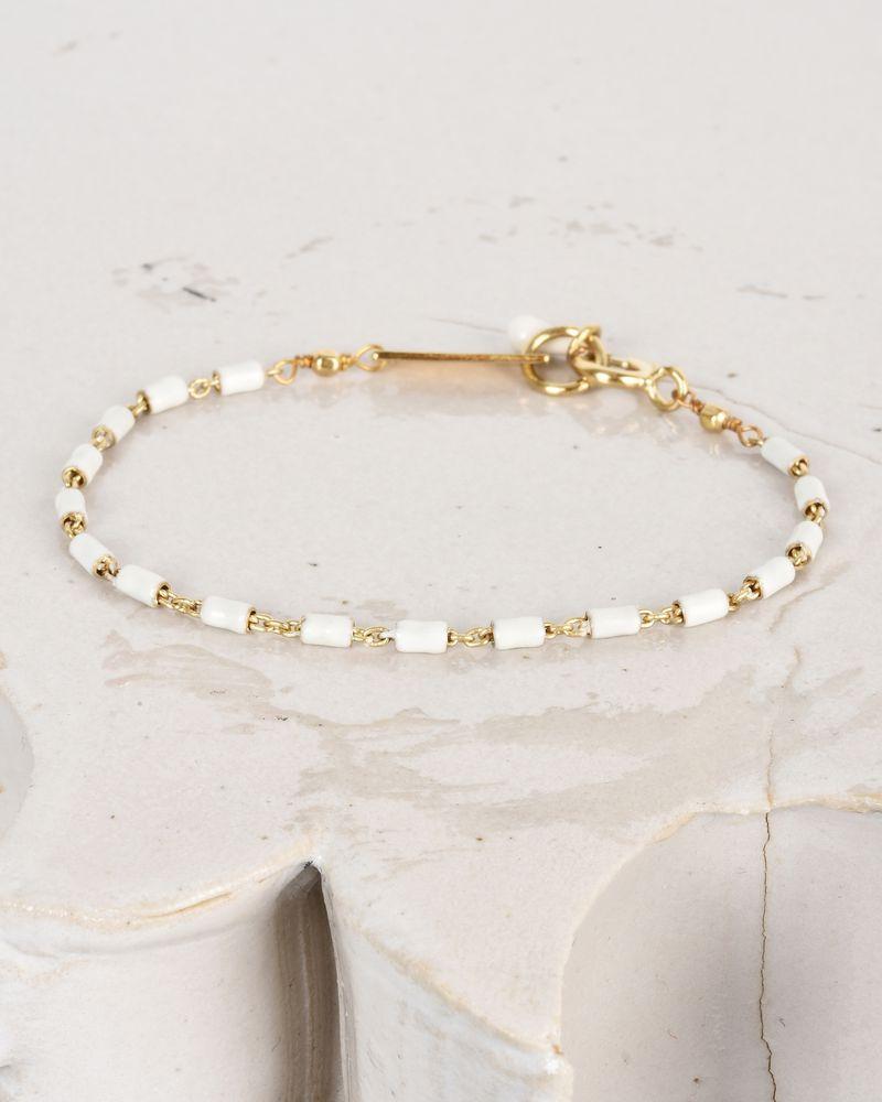 Bracelet doré avec émail ISABEL MARANT