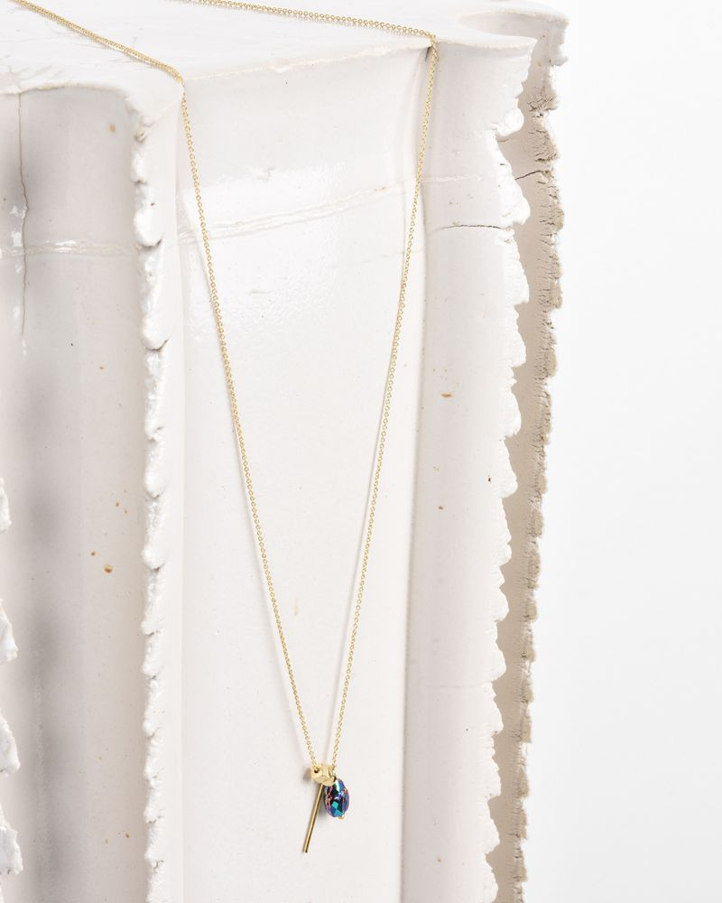 Scarabe Gold tone pendant necklace ISABEL MARANT