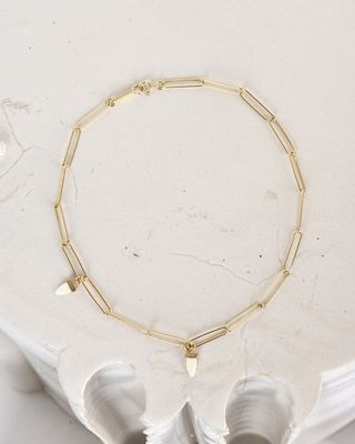 It's all right Gold-tone choker necklace