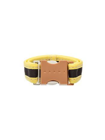 Marni Beige resin bracelet Woman