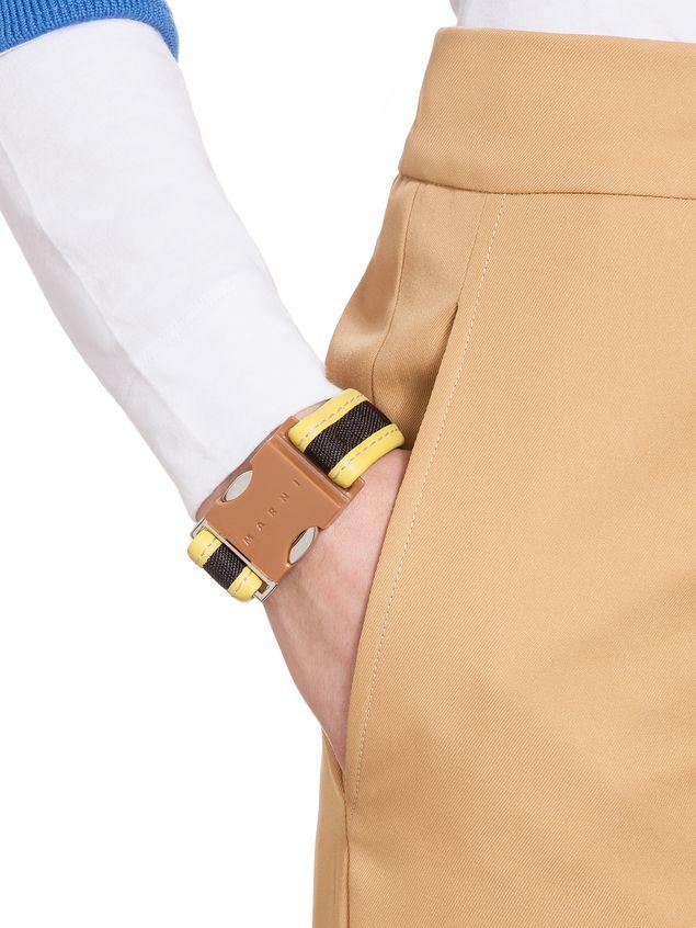 Marni Beige resin bracelet Woman - 2