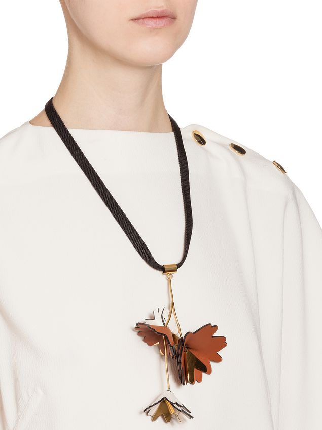 owned shopstyle marni necklace browse resin at collar xlarge wood necklaces pre ribbon therealreal