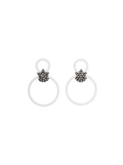 Marni Clip-on earrings in resin Woman
