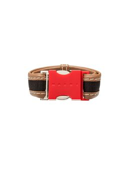 Marni Red resin bracelet Woman