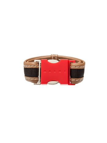 Marni Red resin bracelet Woman