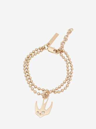 Ball Chain Swallow Bracelet