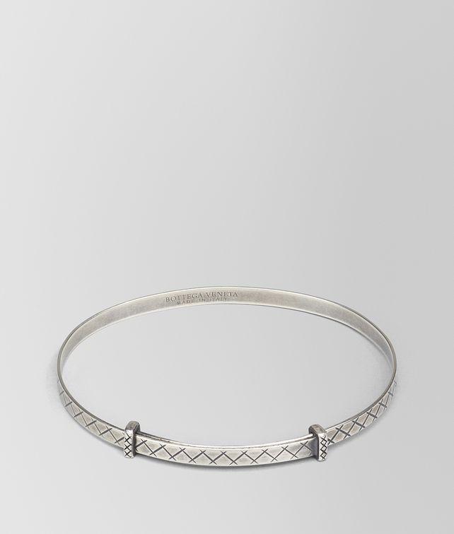 BOTTEGA VENETA BRACELET IN SILVER, INTRECCIATO DETAIL Bracelet D fp