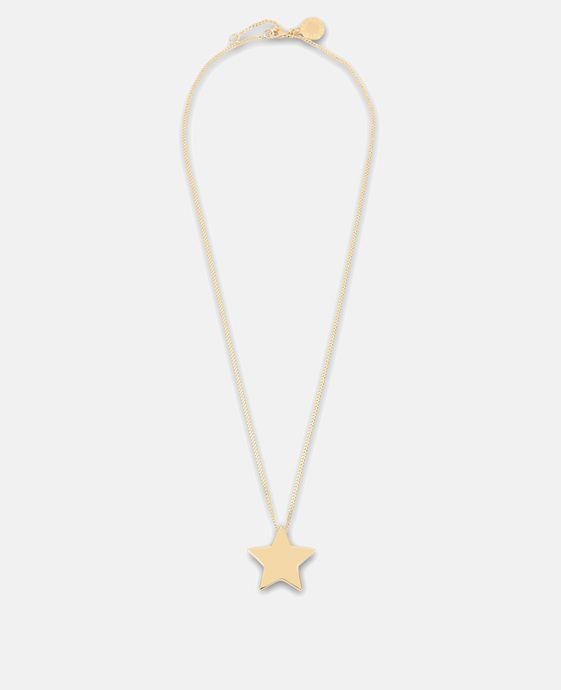 Brass Star Necklace