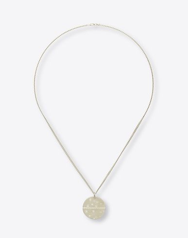 MAISON MARGIELA 11 Necklace U Pounded silver necklace f