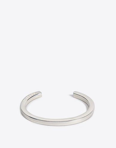 MAISON MARGIELA Bracelet Woman Slip-on silver bracelet f