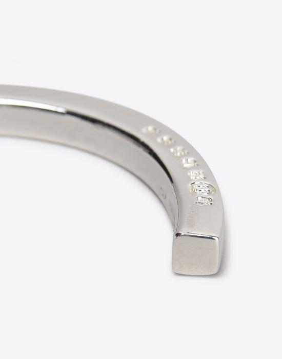 MAISON MARGIELA Slip-on silver bracelet Bracelet D d
