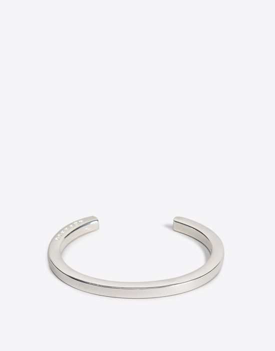 Maison Margiela Slip On Silver Bracelet Woman F