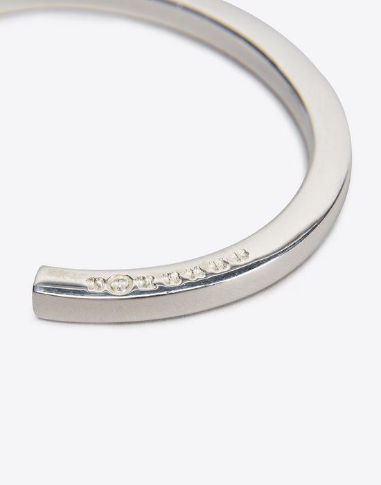 MAISON MARGIELA Slip-on silver bracelet Bracelet D r