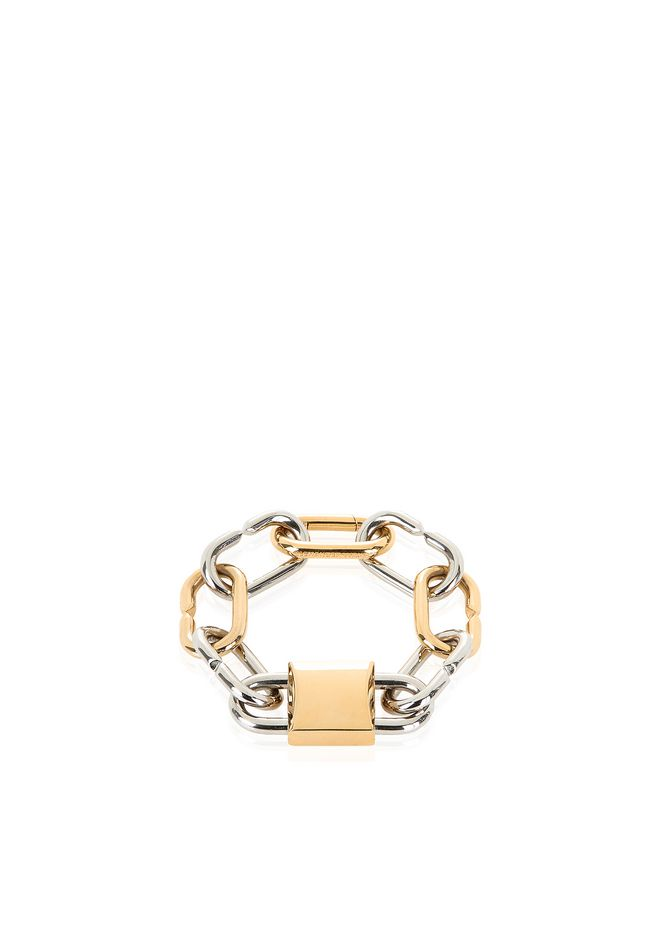 ALEXANDER WANG new-arrivals-accessories-woman BROKEN LINK DOUBLE LOCK BRACELET